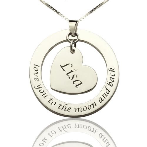 Necklace With Name & Phrase