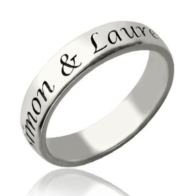 Promise Name Ring