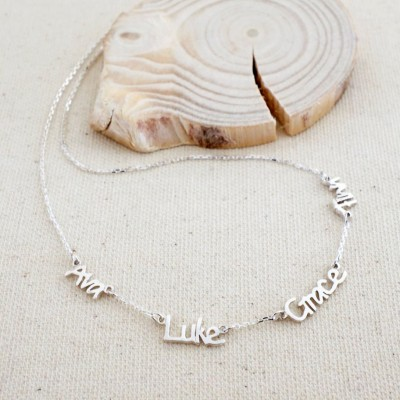 Personalized Name Necklace With 1-6 Names