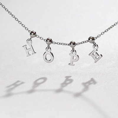 Initial Name Bracelet with 1-7 Letters