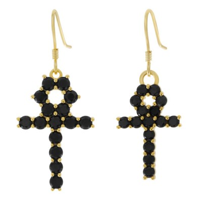 The Hanging Ankh Earrings