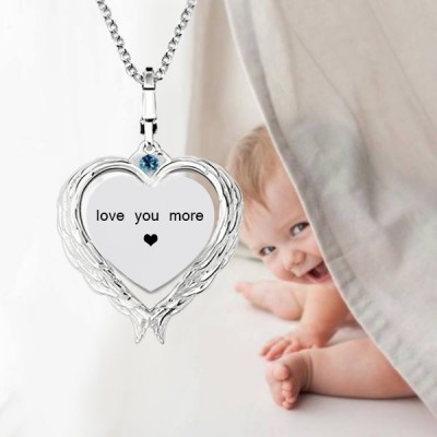 Love Wings - Photo Necklace